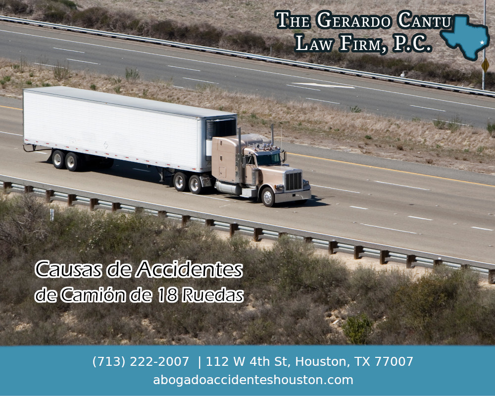 09 Abogado de accidentes de camion en Houston